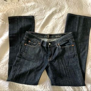 NWOT 7 for all mankind bootcut jeans